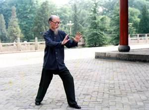 Li Gui Chang Performs Tiger Form