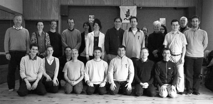 Participants from the Caen Seminar, 2012