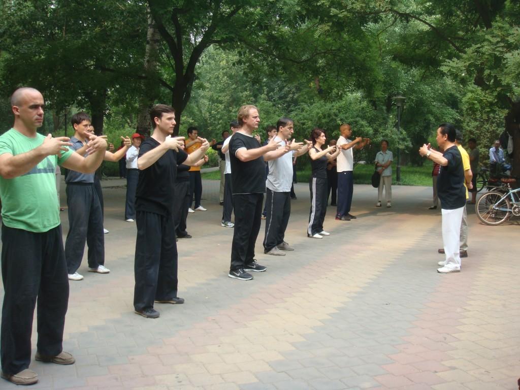 Zhan Zhuang in Beijing with Gao
