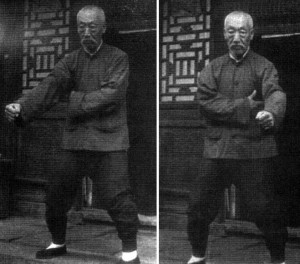 Wang Ji Wu performing Opening and Closing Soothes the Meridians from the Xing Yi Nei Gong