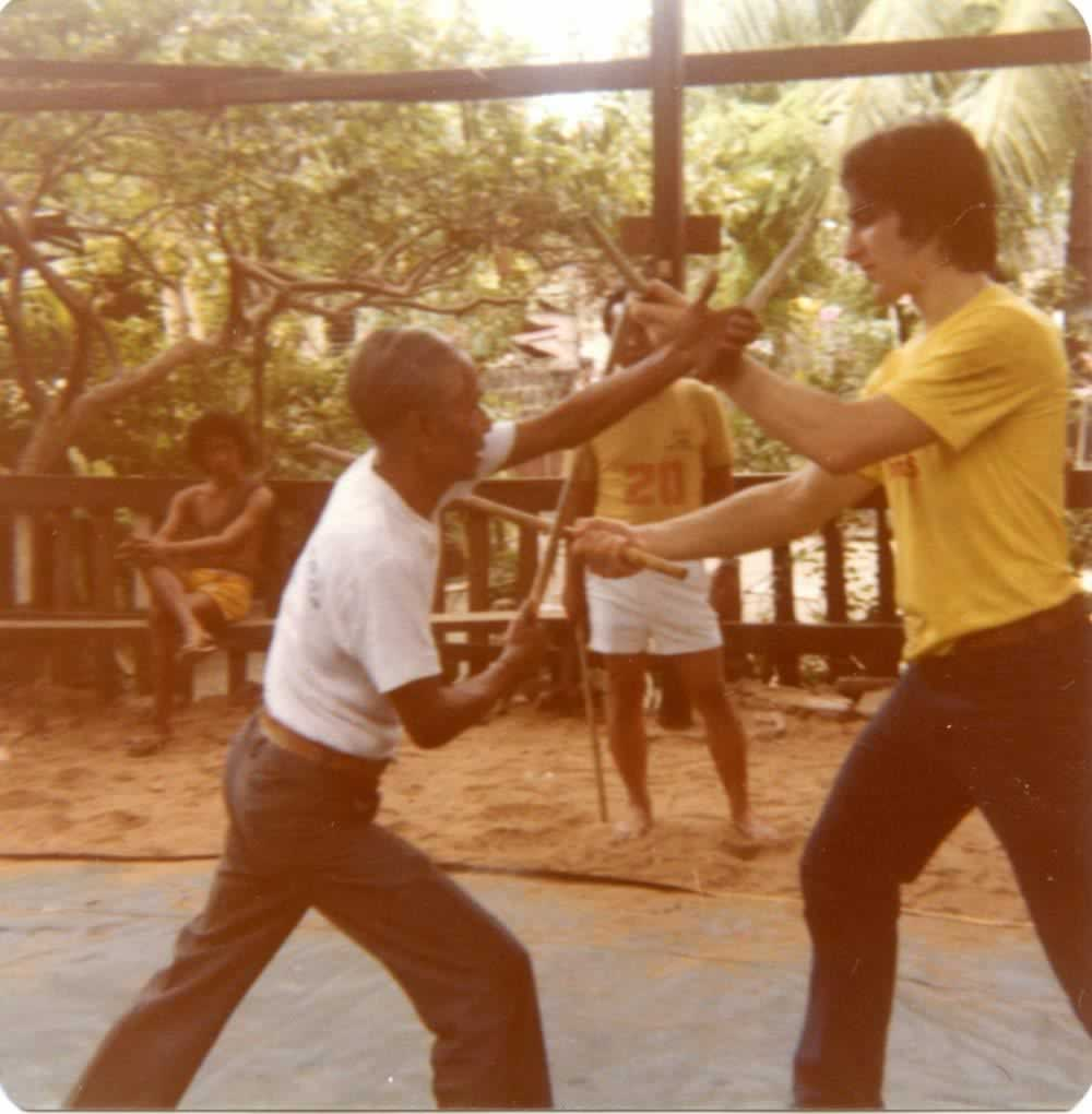 "Filemon (""Momoy"") Canete and Tom Bisio in 1979"