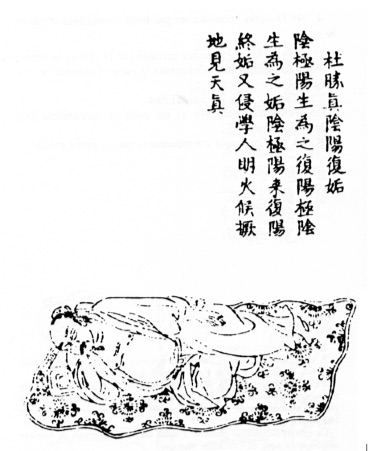 Du Sheng Zhen and Yin Yang in the Fu and Gou Diagrams