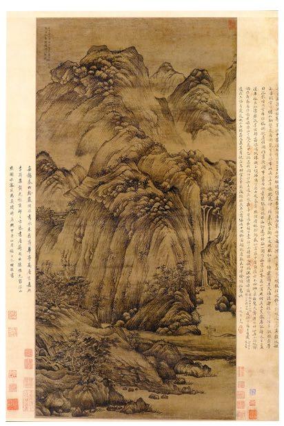 Mount Luofu (Yuan Dynasty 1366)
