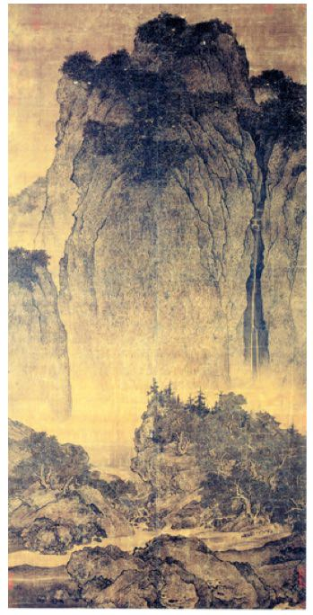 Travelers Among Mountains and Streams (Ca. 1000)
